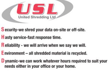 Why United Shredding Ltd